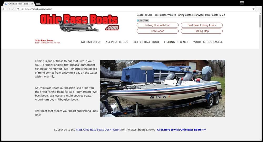 Gofishohio ohio fishing reports lake maps info for Bass fishing websites
